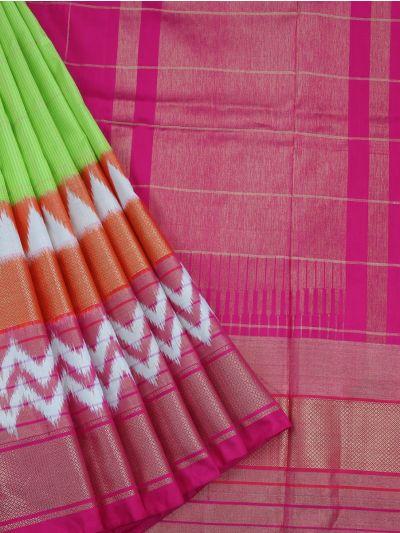 MEB6305417 - Pochampalli Ikat Silk Saree