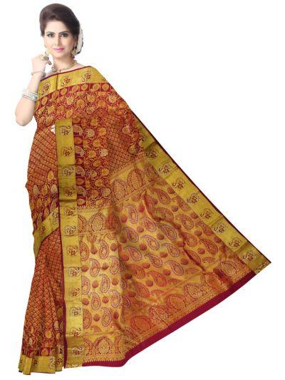 MEB6650884 - Vivaha Stonework Silk Saree