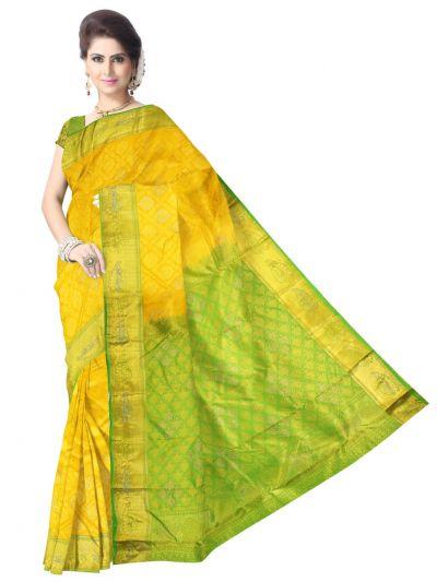 MEB6707075 - Vivaha Stonework Wedding Silk Saree