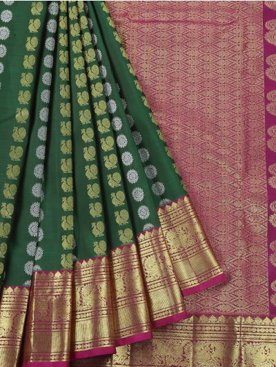 Vivaha Wedding Kanchipuram Silk Saree - MED9055018