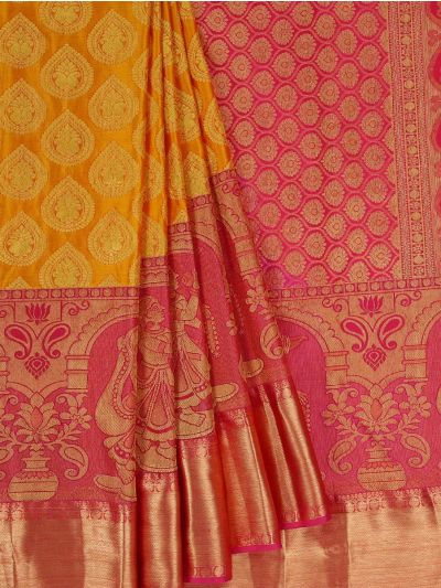 Bairavi Traditional Wedding Silk Saree - MFA0086903