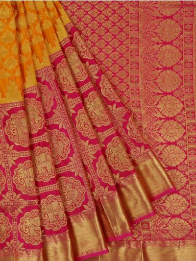 Bairavi Traditional Wedding Silk Saree - MFA0086904