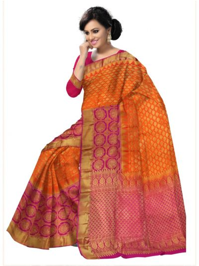 Bairavi Traditional Wedding Silk Saree - MFA0086905