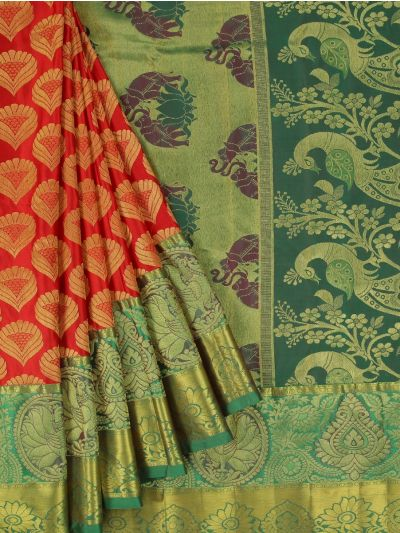 Bairavi Traditional Wedding Silk Saree - MFA0086894