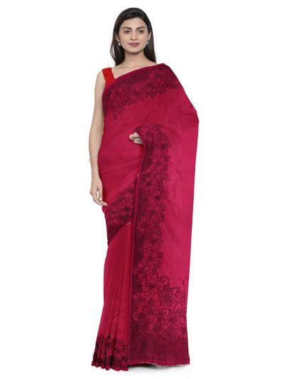 Kathana Exclusive Designer Embroidery Raw Silk Saree - MFB0977244