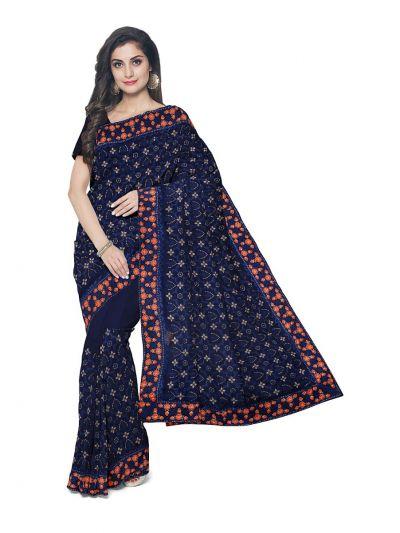 Kathana Exclusive Designer Embroidery Raw Silk Saree - MFB0977255