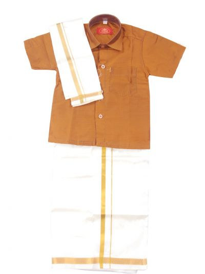 MR HOOKS Boys Cotton Dhoti Set - MGD0816972