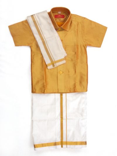 MR HOOKS Boys Cotton Dhoti Set - MFB4234988