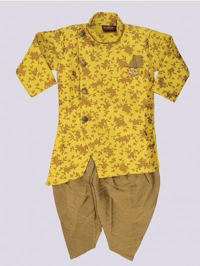 Infant Boys Readymade Dhoti Set - MFB4369114