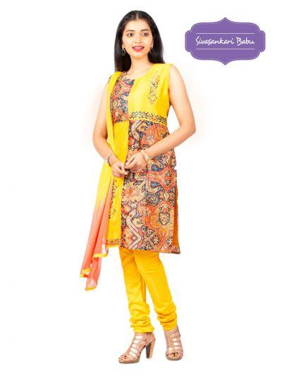 Sivasankari Babu Assam Silk Salwar Kameez - MGC0107487