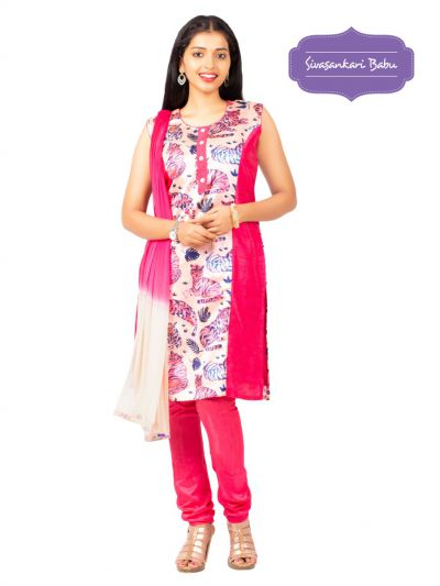 Sivasankari Babu Assam Silk Salwar Kameez - MGC0107511