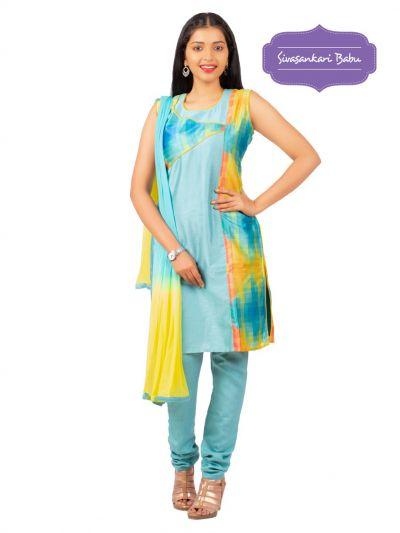 Sivasankari Babu Assam Silk Salwar Kameez - MGC0107532