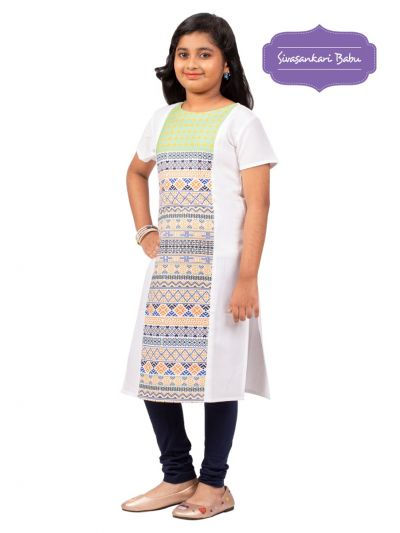 Sivasankari Babu Girls Tops - MGC9941988
