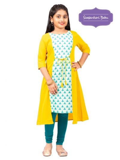 Sivasankari Babu Girls Tops - MGC9941998