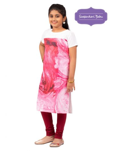 Sivasankari Babu Girls Tops - MGC9942014