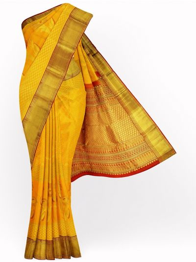 Vivaha Exclusive Wedding Kanchipuram Handloom Silk Saree - MGD0930091