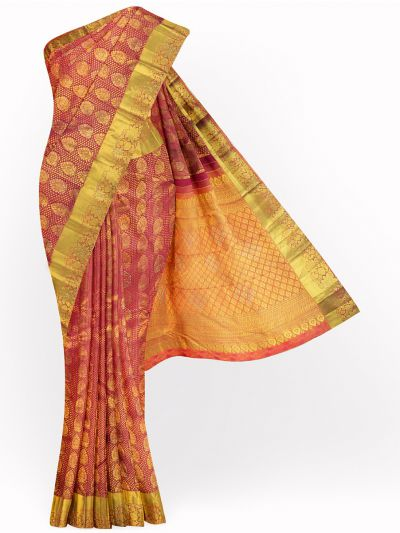 Vivaha Exclusive Wedding Kanchipuram Stone Work Silk Saree - MGD0997678