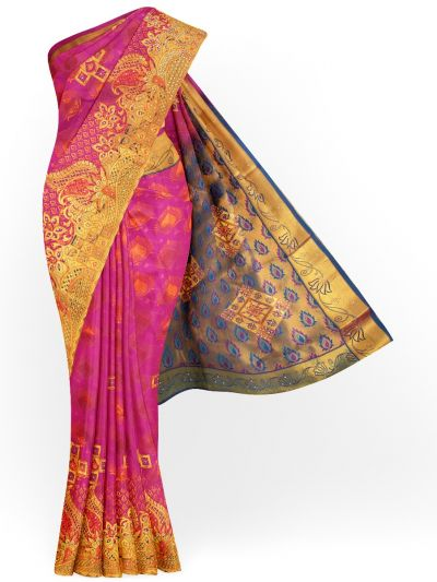 MHB1710259 - Gift Art Silk Stone Work Saree