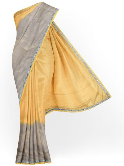 MHD2250158- Khyathi Fancy Shimmer Saree with Readymade Blouse