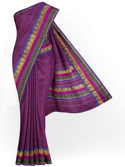Chamelli Arani Silk Cotton Saree - MHD2325952