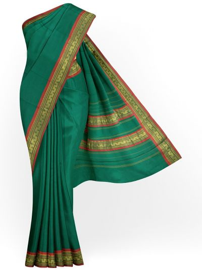 Chamelli Arani Silk Cotton Saree - MHD2325955