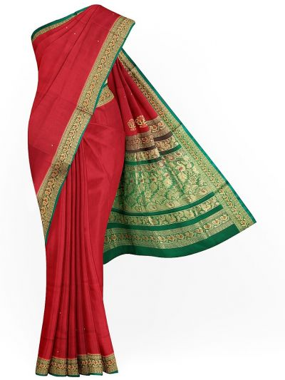 Naachas Exclusive Madurai Cotton Saree - MIB3137697