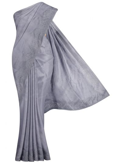 Yuvathi Synthetic Stone Work Saree - MIB3456133
