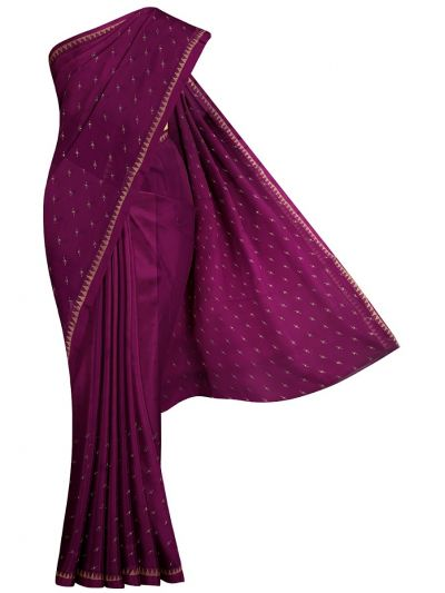 Yuvathi Synthetic Stone Work Saree - MIB3456136
