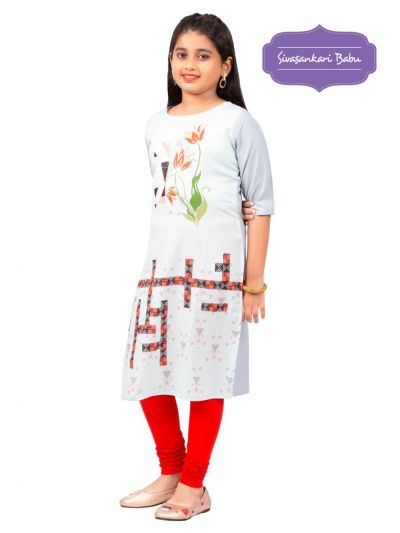 Sivasankari Babu Girls Tops - MIC3692235