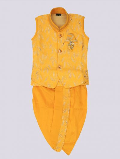 Infant Boys Readymade Dhoti Set - MJB7237393