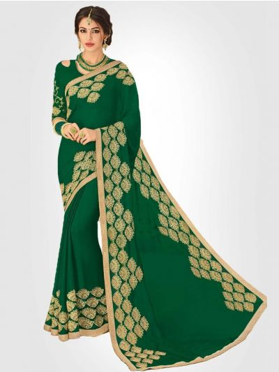 LFC5322744-Georgette Party Wear Saree