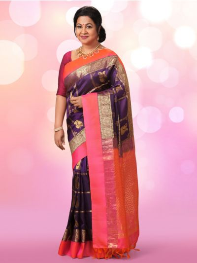 Vipanji Exclusive Traditional Silk Saree