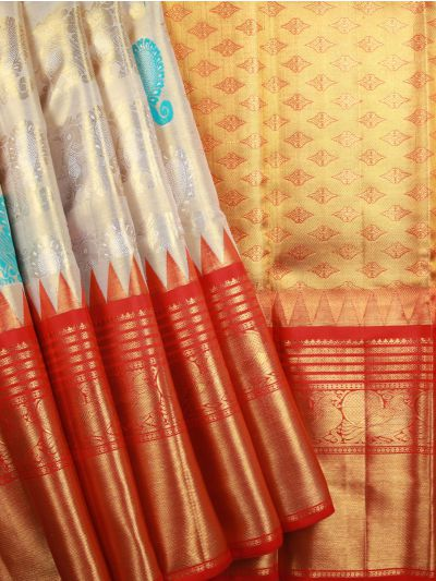 Vivaha Pure Kanchipuram Silk Saree  - LDB4654000
