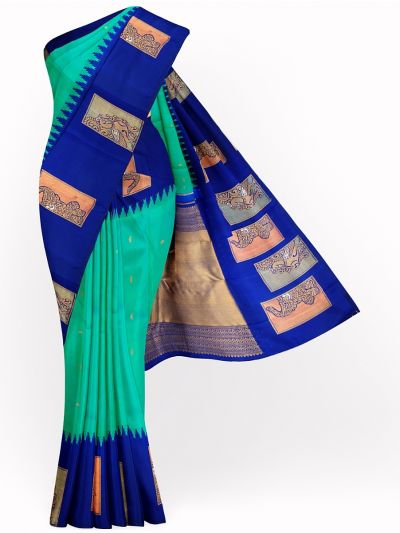 LJD0796635-Vivaha Pure Kanchipuram Silk Saree