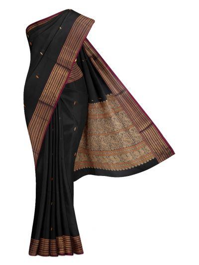 LKC3665308-Chamelli Kovai Cotton Saree