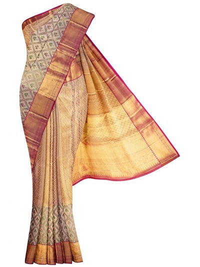MGD0940523 - Vivaha Kanchipuram Wedding Silk Saree