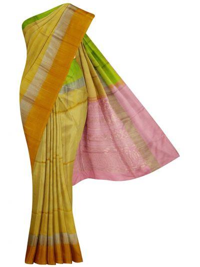 Soft Silk Saree - EKM - MID5911101
