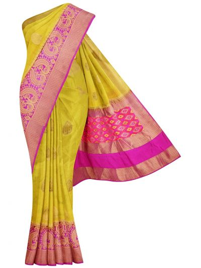 Fancy Semi Jute Saree - MJD8215128