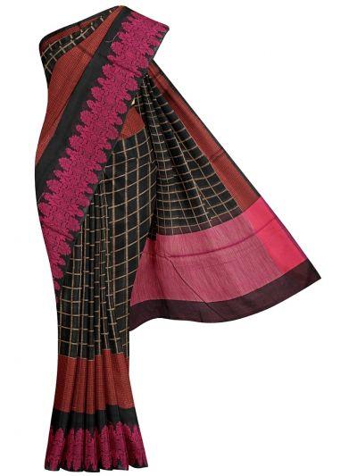 Fancy Semi Jute Saree - MKA8734082