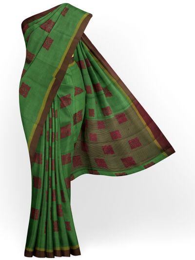 Fancy Semi Jute Saree - MKB9214965