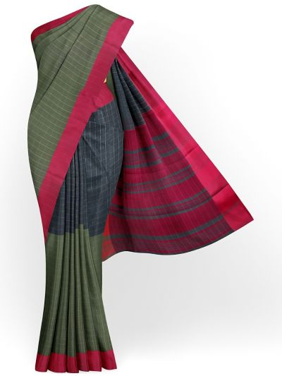 Chamelli Fancy Cotton Saree - MKC9579215