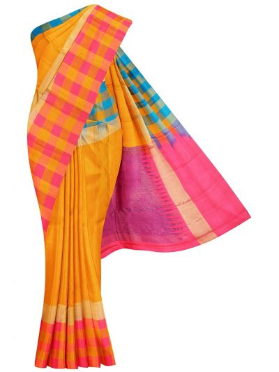 Traditional Uppada Silk Saree - MLA0615307
