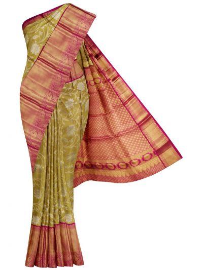 NDB0922335- Vivaha Goddess Pure Kanchipuram Silk Saree