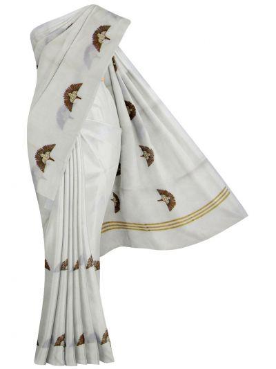 Women's Kerala Traditional Saree - EKM - NEB1891945