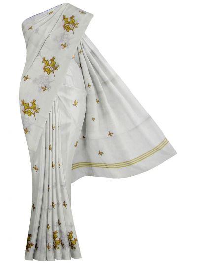Women's Kerala Traditional Saree - EKM - NEB1891951