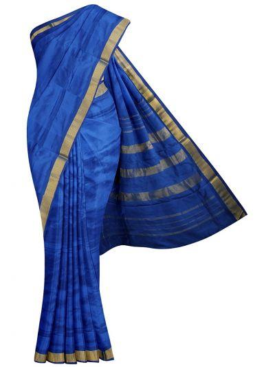 NEC2130447 - Handloom Pure Silk Nine Yards Saree