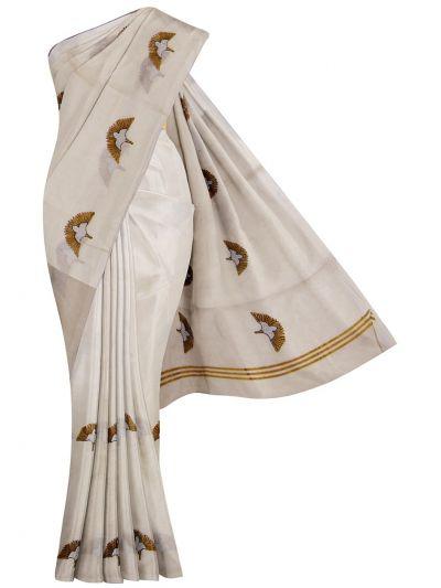 Women's Kerala Traditional Saree - EKM - NFC4893374