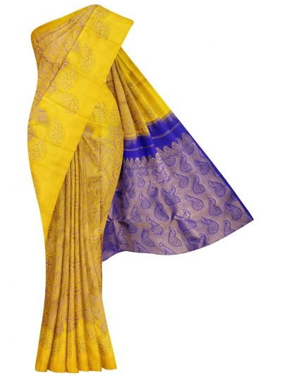 Vivaha Wedding Pure Kanchipuram Silk Saree - NFC4908814
