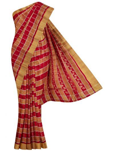 Fancy Tussar Silk Saree- NGB1019363