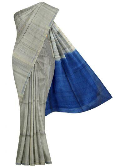 EKM-NGD1812288 - Sahithyam Dupion Tussar Silk Saree